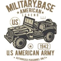 American Army Jeep2 Thumbnail